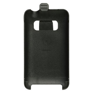 INSTEN Black Rubberized Hard Snap-on Belt Clip Holster Phone Case Cover For HTC EVO 4G