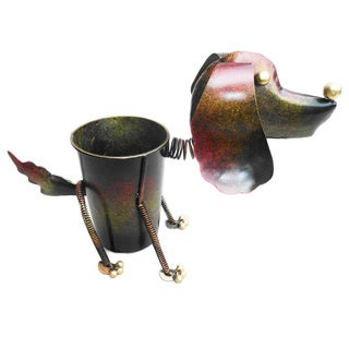 Iron Dog Planter Decor (Indonesia)
