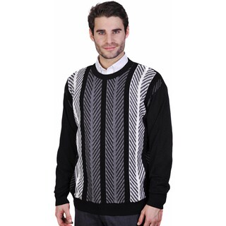 Men's Merino Wool Crew Neck Sweater