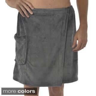 Leisureland Men's Coral Fleece Spa Wrap (2 options available)