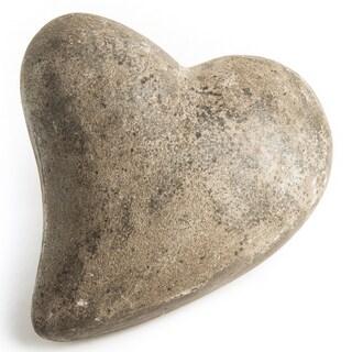 Handmade Heart of Stone Ornament (Indonesia)