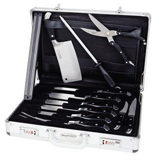 BergHoff Forged 12-piece Ergonomic Knife Set and Case