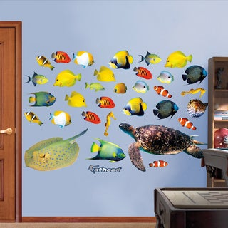 Fathead Tropical Fish Wall Decals