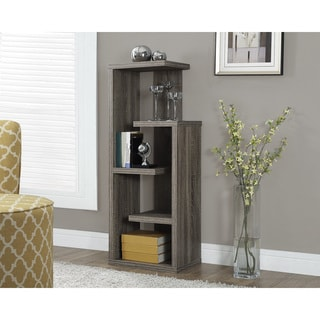 Dark Taupe Reclaimed-Look Accent Display Unit