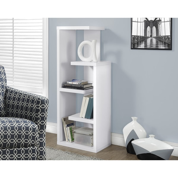 White Accent Display Unit
