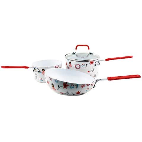 BergHoff Children Line Girl's Cookware Set