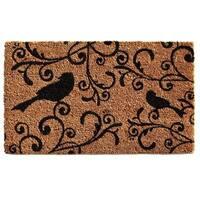 Raven Beauty Coir with Vinyl Backing Doormat (1'5 x 2'5)