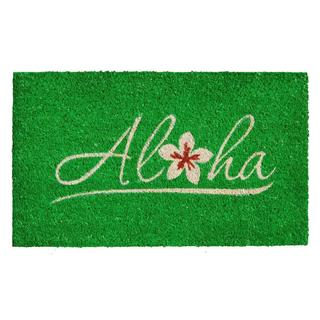 Aloha Coir with Vinyl Backing Doormat (1'5 x 2'5)