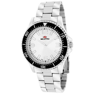 Seapro Women's SP5410 Tideway Round Silver Bracelet Watch