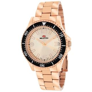 Seapro Women's SP5413 Tideway Round Rose gold Bracelet Watch
