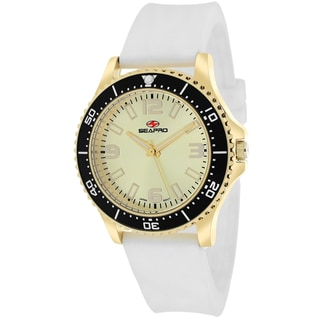 Seapro Women's SP5419 Tideway Round White Strap Watch