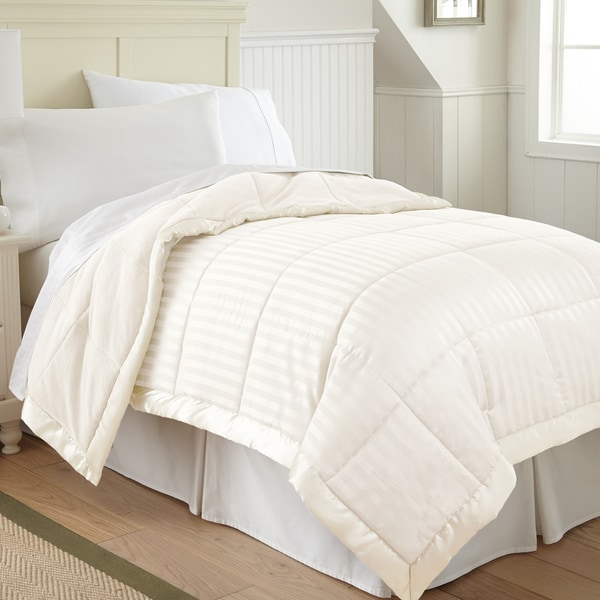 Amraupur Overseas Down Alternative Blanket with Fleece Reverse