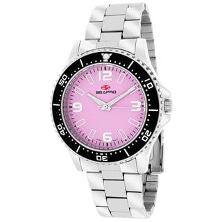 Seapro Women's SP5412 Tideway Round Silver Bracelet Watch