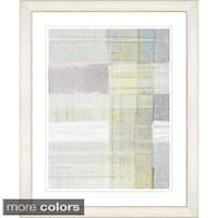 Studio Works Modern 'Snowblind Series II - Oyster Yellow' Framed Fine Art Print