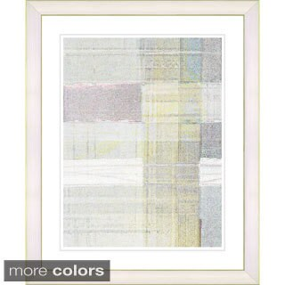 Studio Works Modern 'Snowblind Series II - Oyster Yellow' Framed Fine Art Print