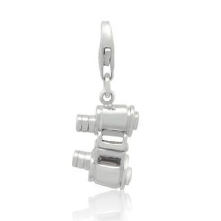 Gioelli Sterling Silver Binocular Charm