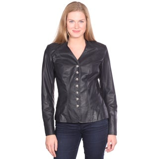 Christian Reed Women's May Leather Blazer (More options available)
