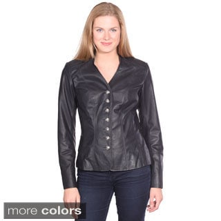 Christian Reed Women's May Leather Blazer