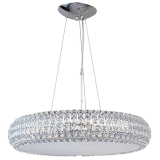 Bijou Chrome Metal 8-light Single Pendant - Bijou 8-Light