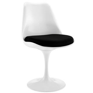 Poly and Bark Eero Saarinen Tulip-style Dining Chair in Black