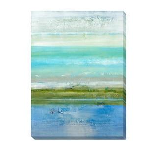 Jill Martin 'Azure Bound' Canvas Art