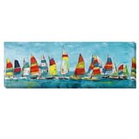 Katrina Craven 'Sailing Away' Canvas Art