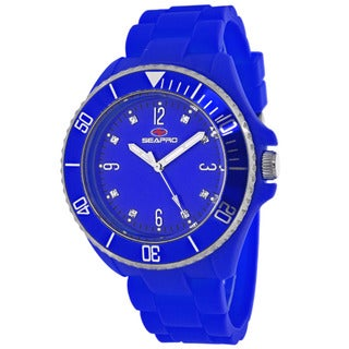 Seapro Women's SP7414 Bubble Round Blue Strap Watch