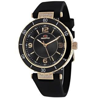 Seapro Women's SP6414 Seductive Round Black Strap Watch