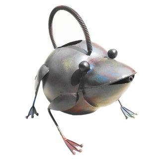 Handmade Metal Frog Watering Can (Indonesia)