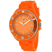 Seapro Women's SP7415 Bubble Round Orange Strap Watch