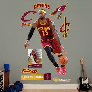 Fathead Lebron James Wall Decals