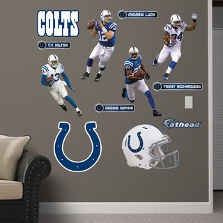 Fathead Indianapolis Colts Power Pack Wall Decals