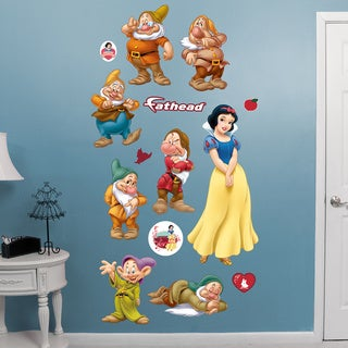Fathead Snow White & the Seven Dwarfs Wall Decals