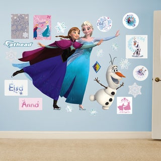 Fathead Frozen Ice Skating Mural Wall Decals