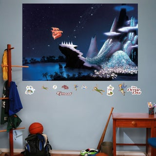 Fathead Peter Pan Neverland Mural Wall Decals