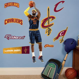 Fathead Jr. Lebron James Wall Decals