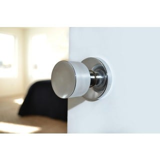 Sure-Loc Polished Chrome Modern Round Doorknob