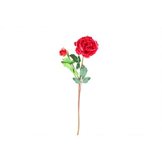Burgundy 20-inch Peony Stem Decorative Flower (Set of 12)