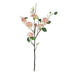 Blush Pink 30-inch Apple Blosson Decorative Flower (Set of 6)