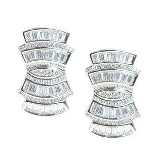 Michael Valitutti Art Deco Inspired Earrings