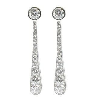 Michael Valitutti Graduated Drop Earrings