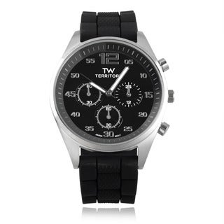 Territory Men's Silicone Band Watch