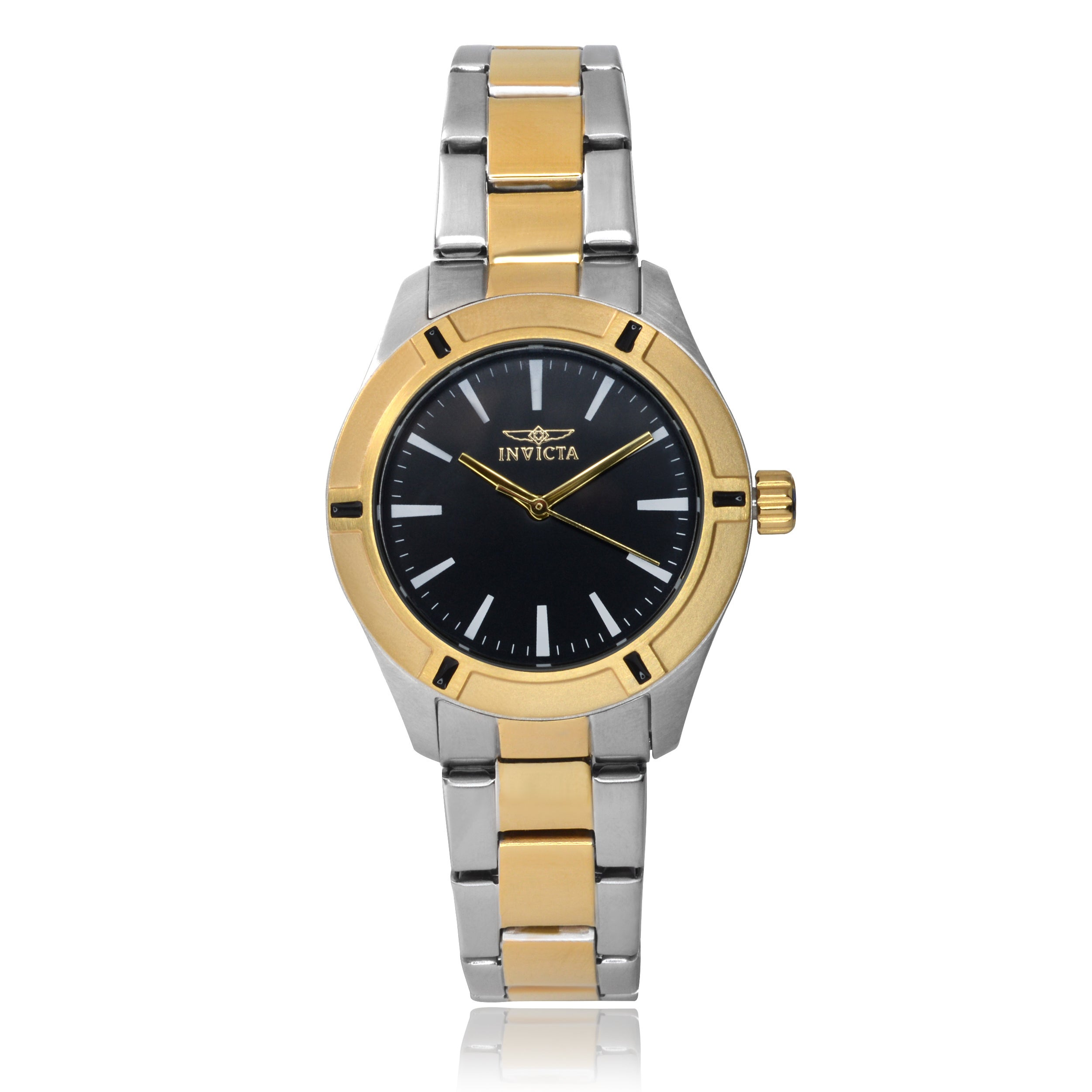 Invicta Women's 17909 Stainless Steel 'Pro Diver' Link Wa...
