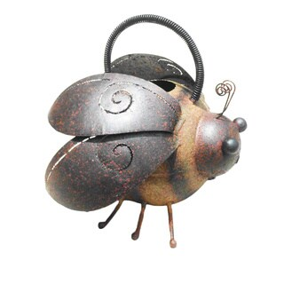 Handmade D-Art Iron Bee Watering Can (Indonesia)