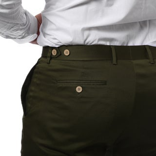 Zonettie by Ferrecci Men's Slim Fit 2-piece Cotton Suit