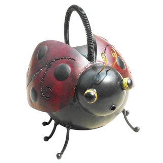 Handmade D-Art Iron Ladybug Watering Can (Indonesia)