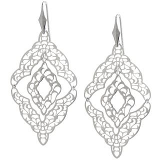 Sterling Silver Filigree Cut-out Mobile Chandelier Dangle Earrings|https://ak1.ostkcdn.com/images/products/9664918/P16846343.jpg?impolicy=medium