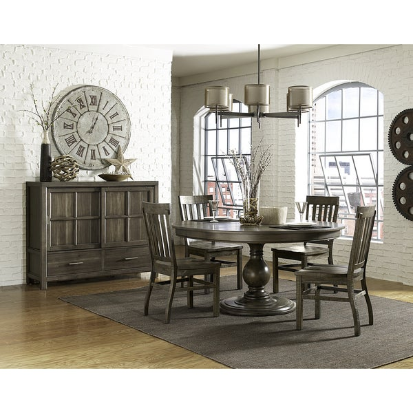 Shop Magnussen D48 Karlin Wood Round Dining Table With Wood Top Custom Magnussen Dining Room Furniture