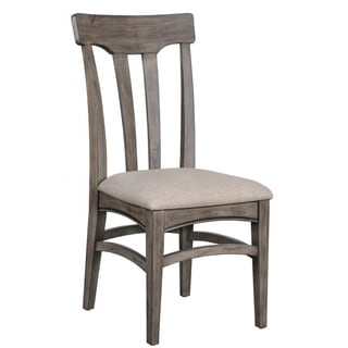 Magnussen Walton Wood Dining Chair with Upholstered Seat (set of 2)