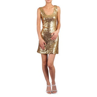 Women's Sequin Tank Evening Gown
